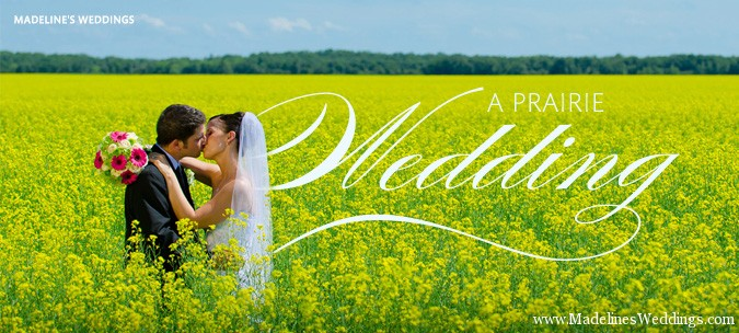 Another Madeline's Wedding Featured on Weddings In Winnipeg!