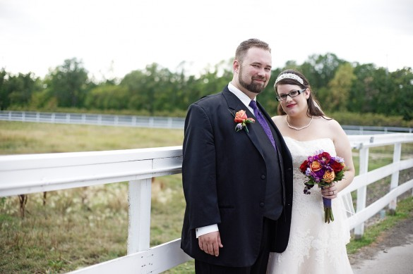 Our Real Wedding Stacey Amp Greg