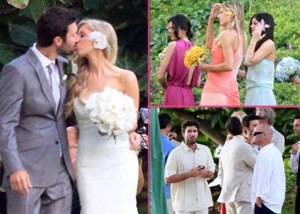 Brandon leah jenner wedding