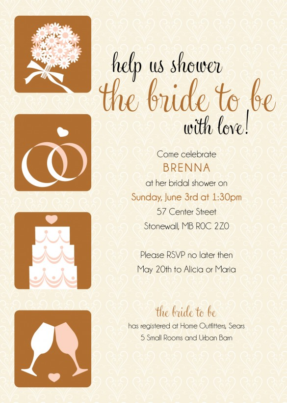 ... Bridal Shower Invitations, contact us today at info@madelinesweddings