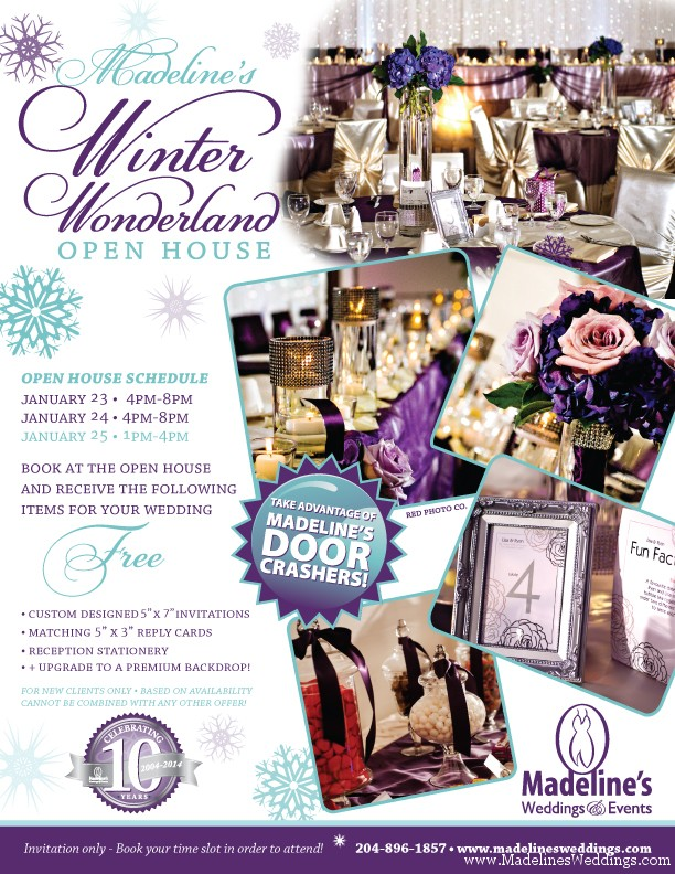 Madeline's Winter Wonderland Open House!