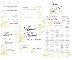 Custom Designed Invitations and Stationery in Winnipeg