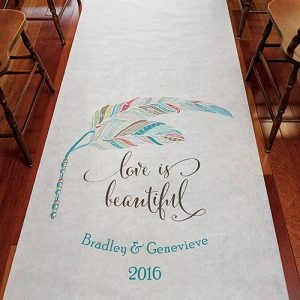 Madeline's Boutique ~ Aisle Runners & Aisle Signs!