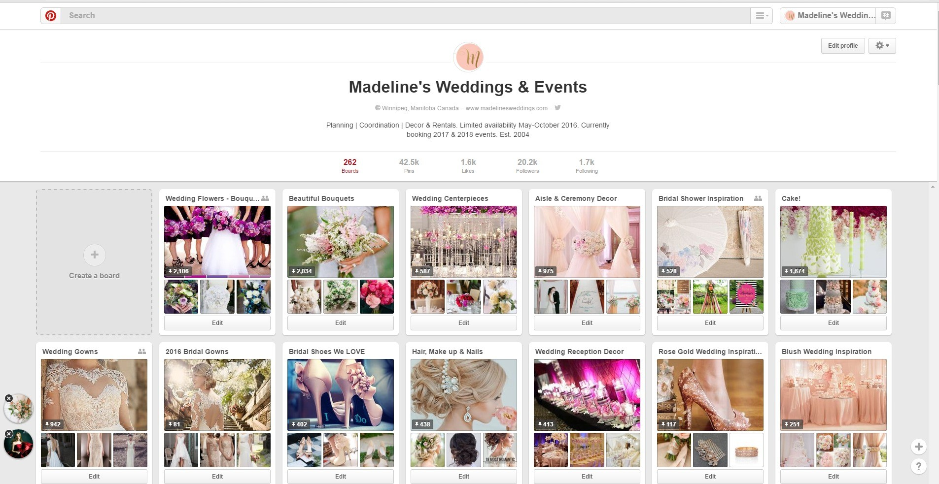 Wedding Inspiration on Pinterest!