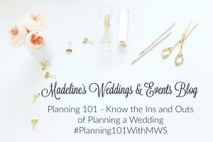 Planning 101 With MWS ~ The Importance of a Rehearsal