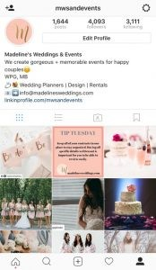 Wedding Inspiration on Instagram!