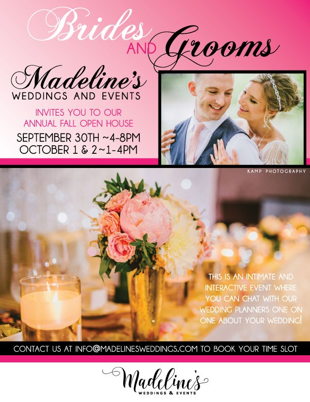 Madeline's Weddings & Events Annual Fall Open House