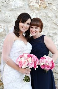 Lesley & Dustin are MARRIED!