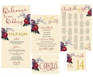 Winnipeg Wedding Invitations & Reception Stationery