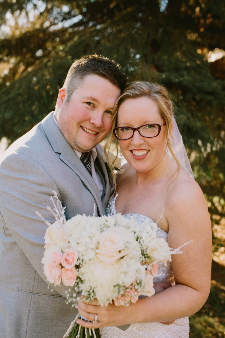 Courtney and Colin are MARRIED!