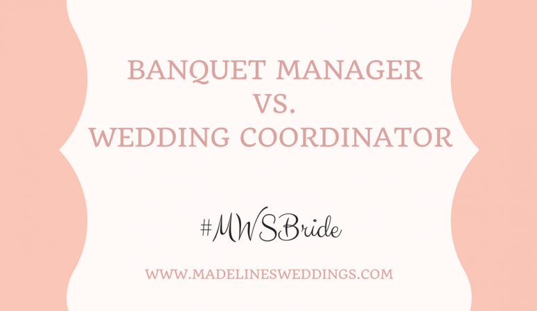 Banquet Manager vs. Wedding Coordinator