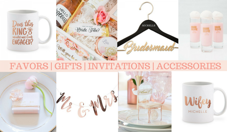 Wedding Decor & Favors: Canadian Online Boutique