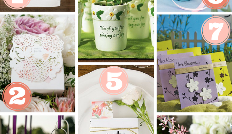 Spring Inspired Wedding Details