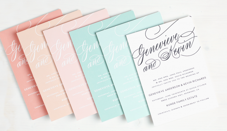 Custom Wedding Invitations and Make Your Own Wedding Invitations ~ Basic Invite!
